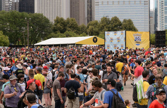 Pokemon Go Fest Screenshot