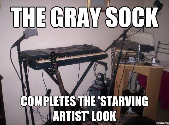 Starving Artist Caption Meme